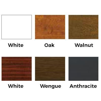 list colors window pvc 6 cameras
