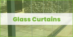 glass curtains system