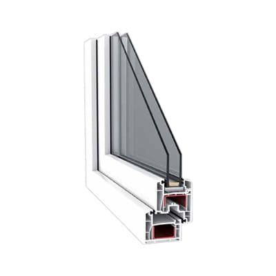 4 camera pvc window pilar horadada