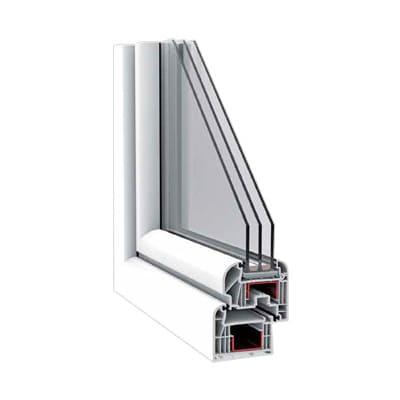 6 camera pvc window pilar horadada